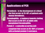 applications of pcr41