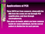 applications of pcr46