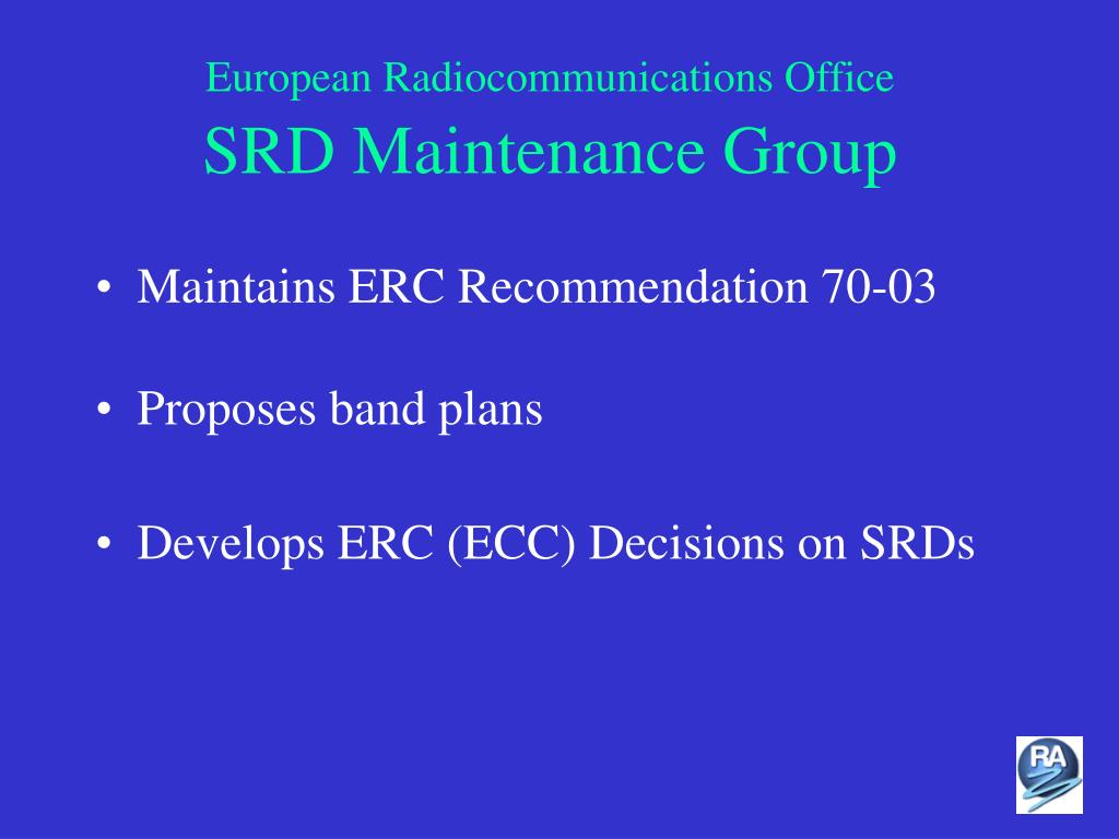 European Radiocommunications Office