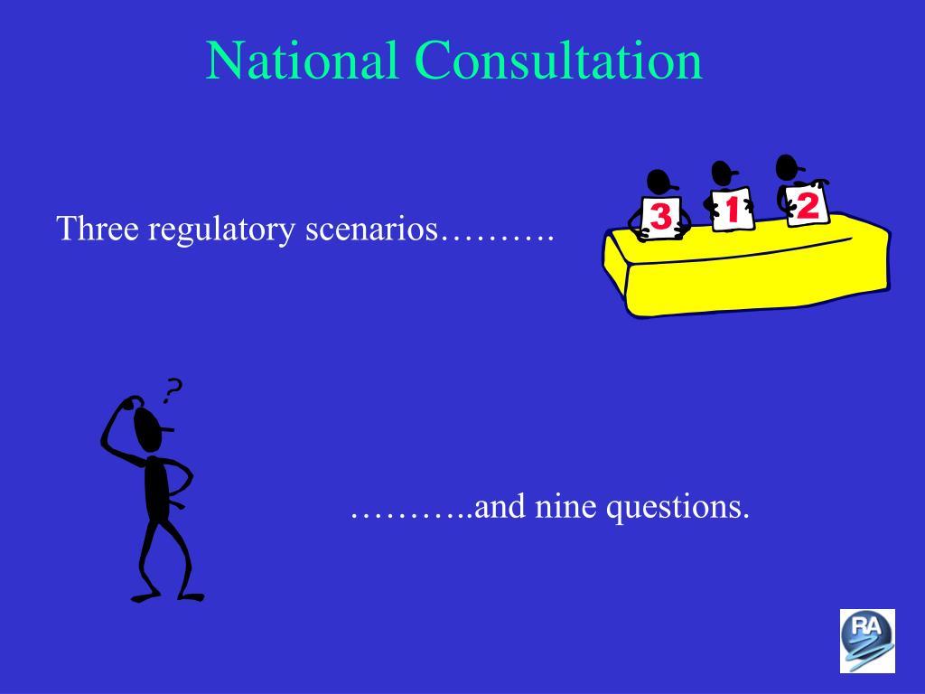 National Consultation
