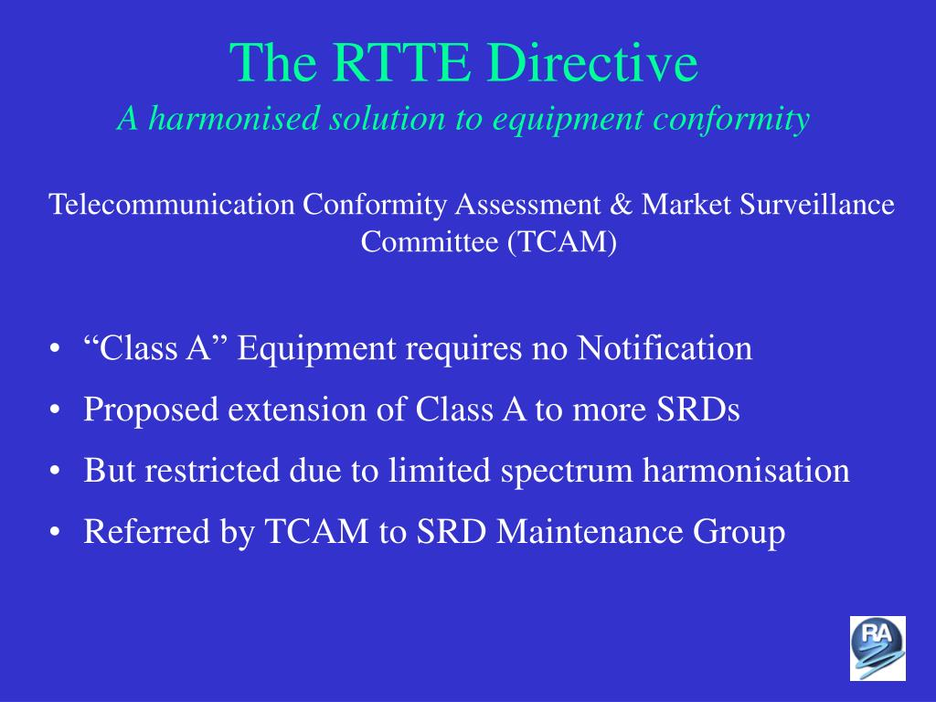 The RTTE Directive
