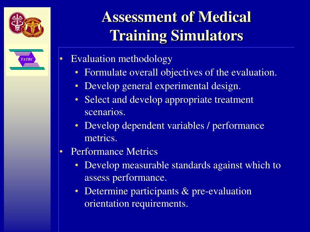 Assessment of Medical