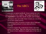 the abcs