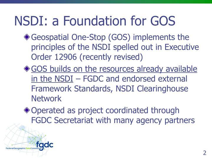 Nsdi a foundation for gos