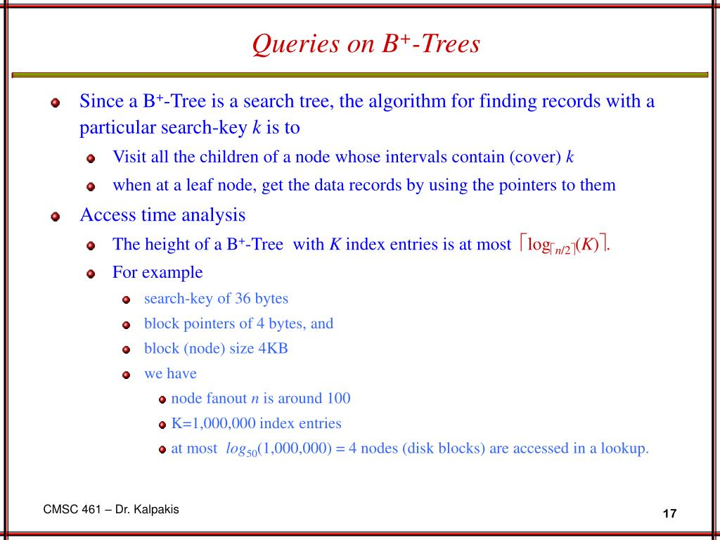 Queries on B