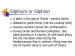 silphium or silphion