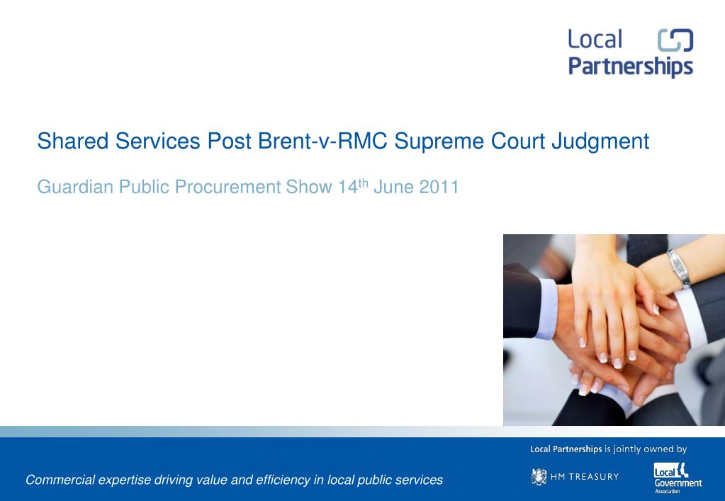 shared services post brent v rmc supreme court judgment