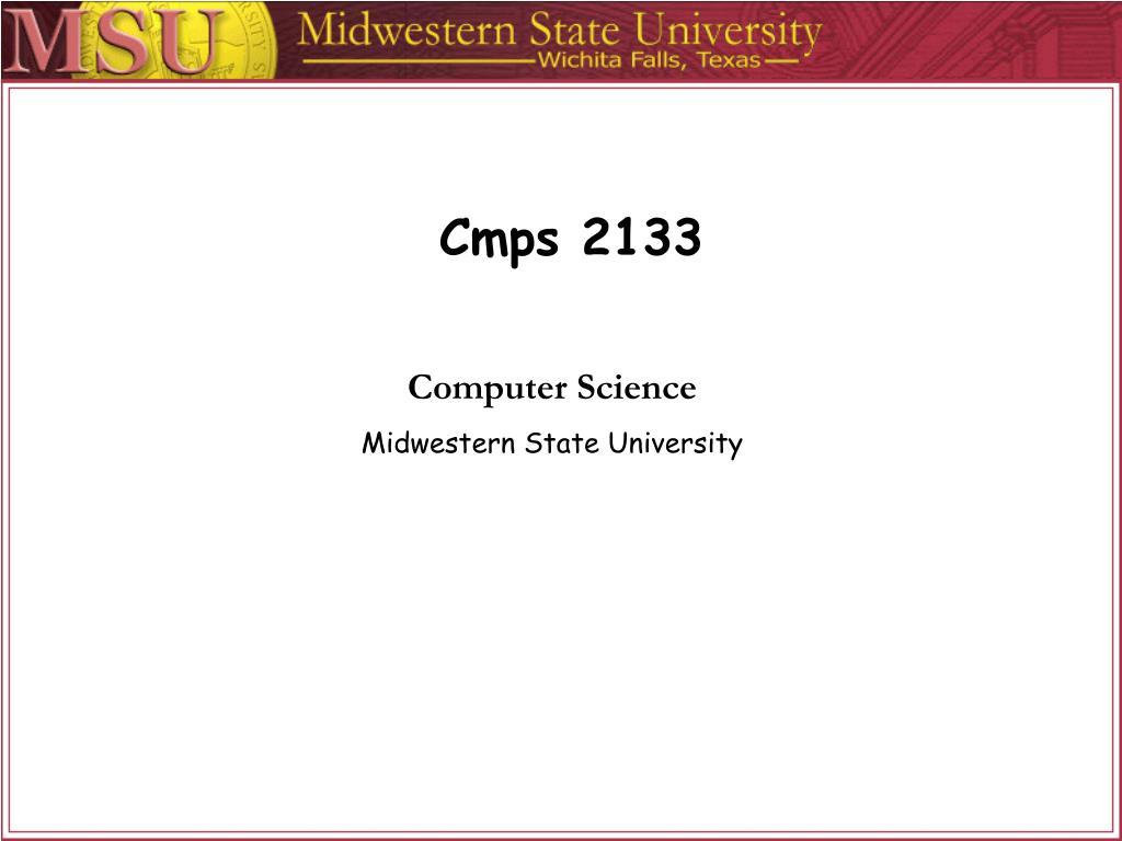 Cmps 2133