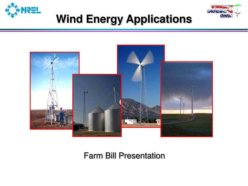 wind energy applications l.