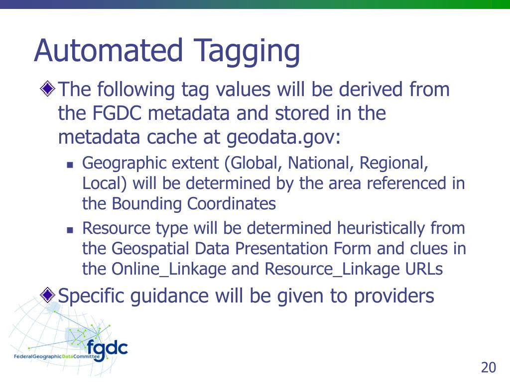Automated Tagging