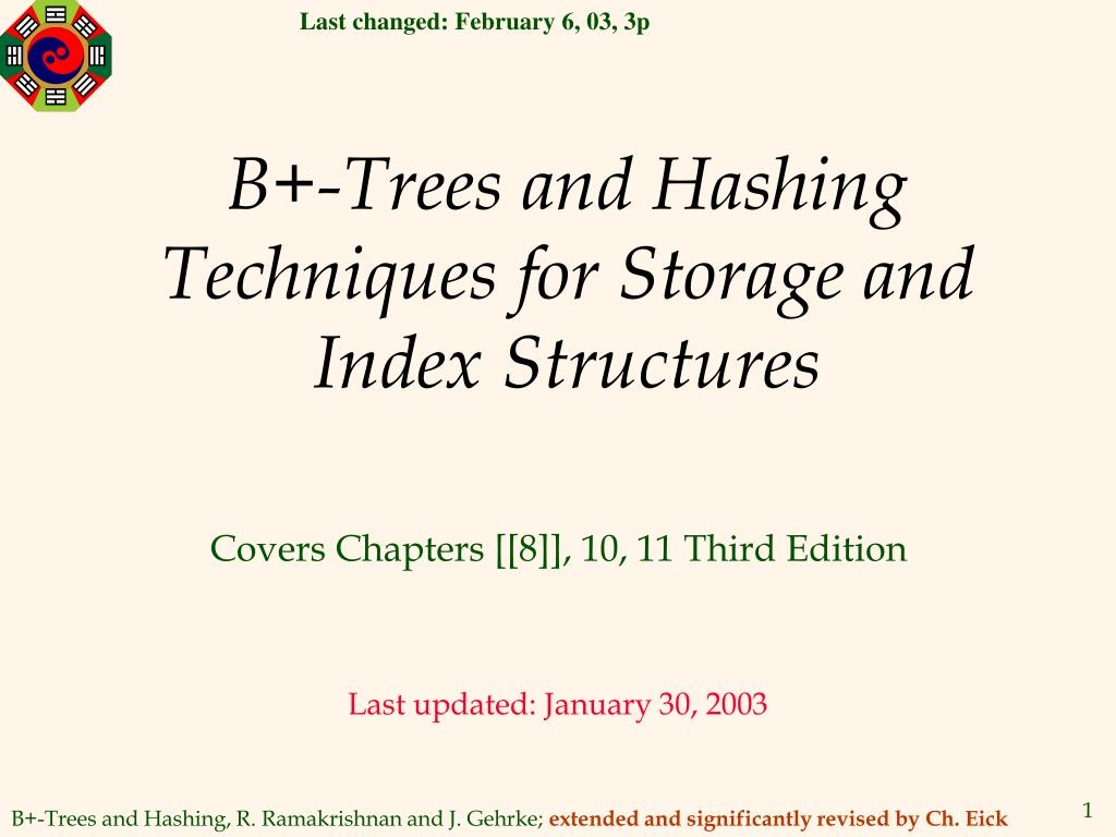 b trees and hashing techniques for storage and index structures l.