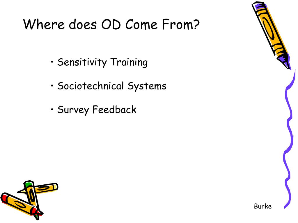 Where does OD Come From?