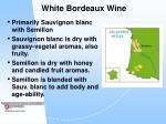 white bordeaux wine