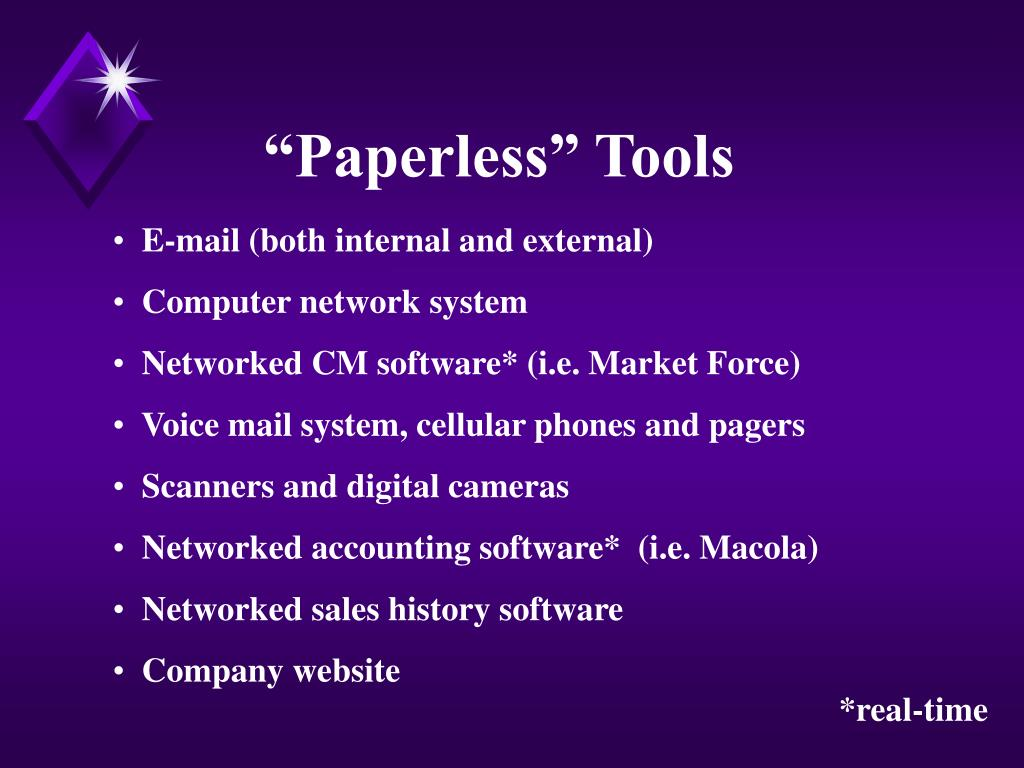 """Paperless"" Tools"