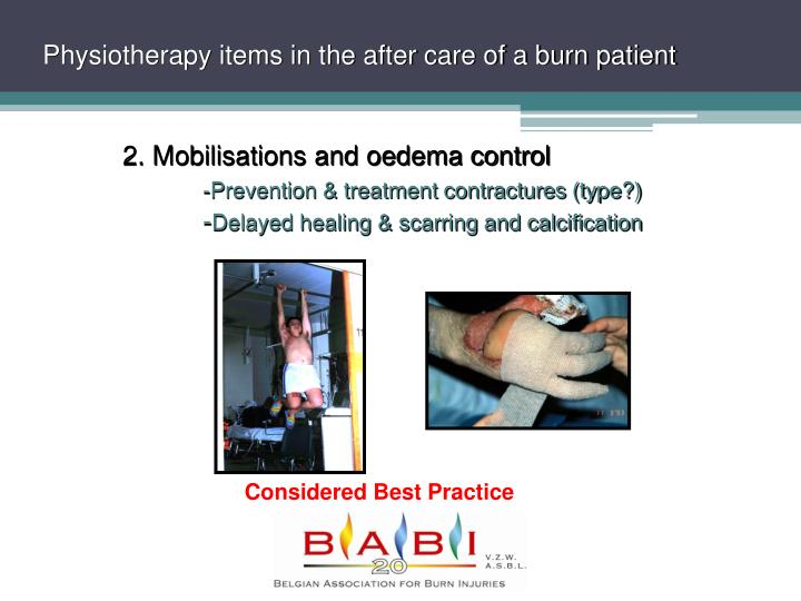 wound care treatment for burn patients Comprehensive burn and wound specialists comprehensive burn and wound specialists, through the miami valley hospital regional adult burn center, is an established facility in west central ohio for the treatment of adult and adolescent burn and wound patients.