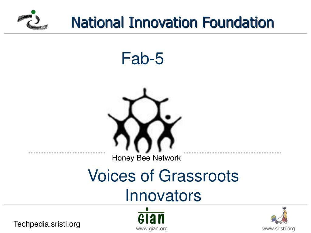 voices of grassroots innovators l.