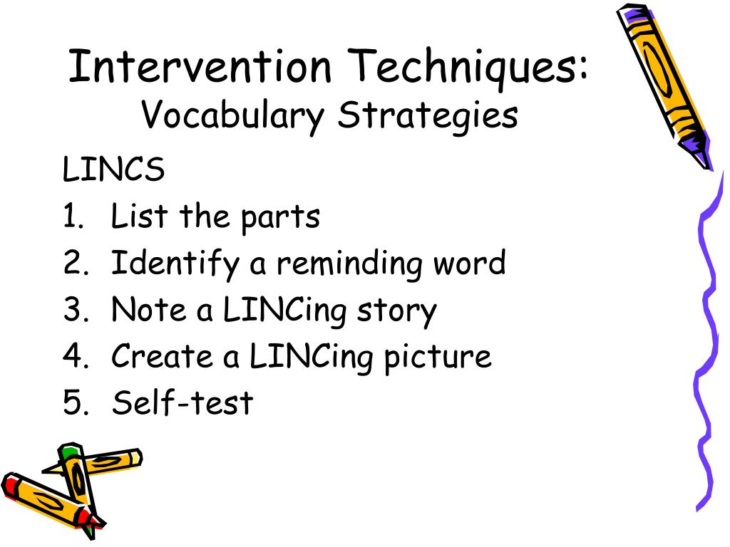 Intervention Techniques: