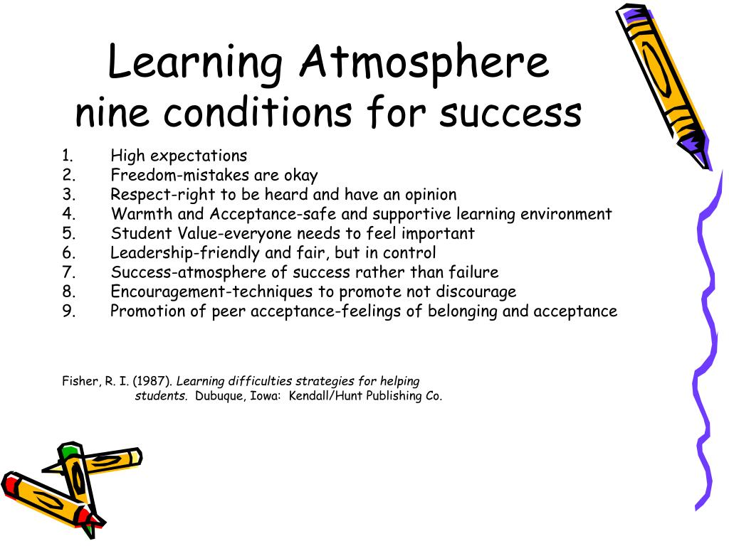 Learning Atmosphere
