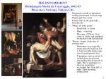 the entombment michelangelo merisi da caravaggio 1602 03 pinacoteca vaticana vatican city