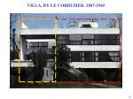 villa by le corbusier 1887 1965