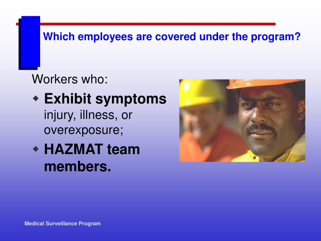 Which employees are covered under the program?