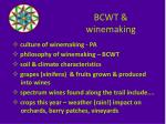 bcwt winemaking