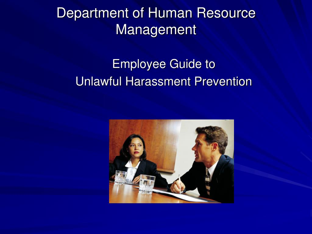 Department of Human Resource Management