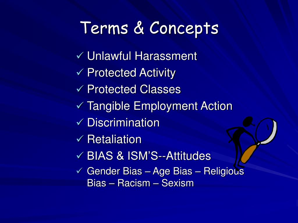 Terms & Concepts