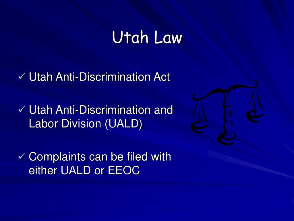 Utah Law