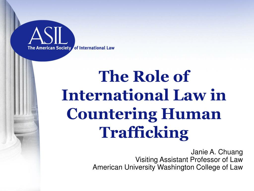 the role of international law in countering human trafficking l.