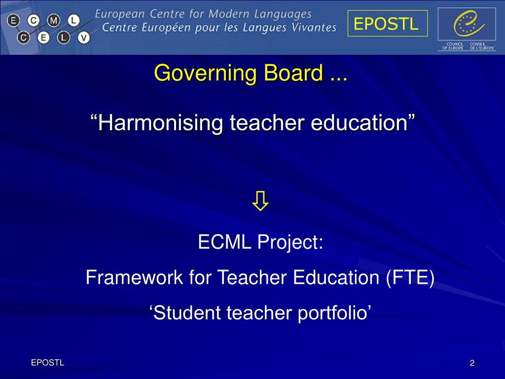 Governing Board ...