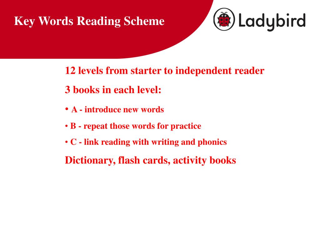 Key Words Reading Scheme
