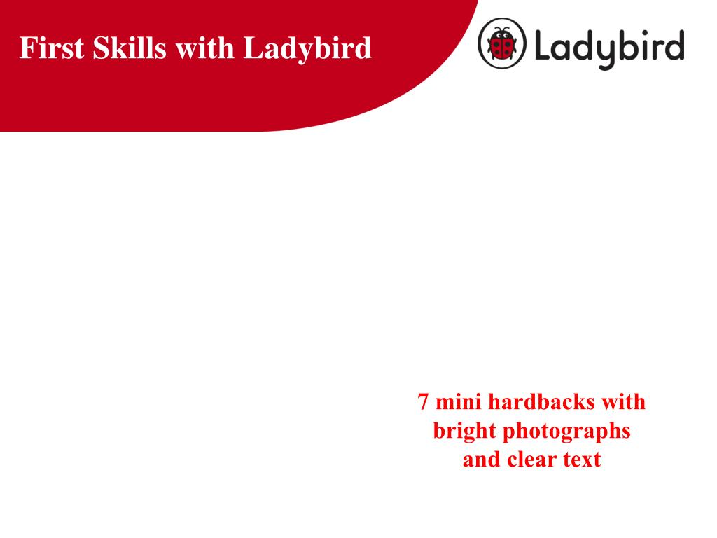 First Skills with Ladybird