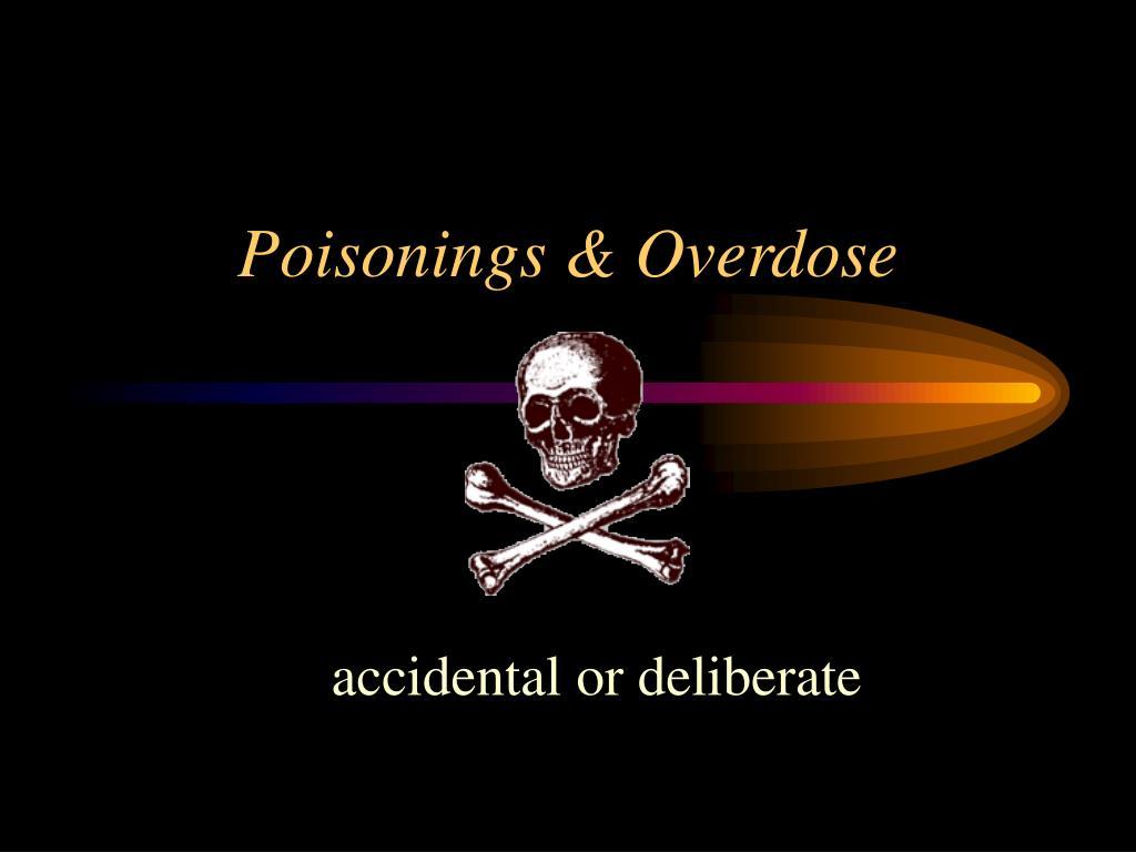 poisonings overdose