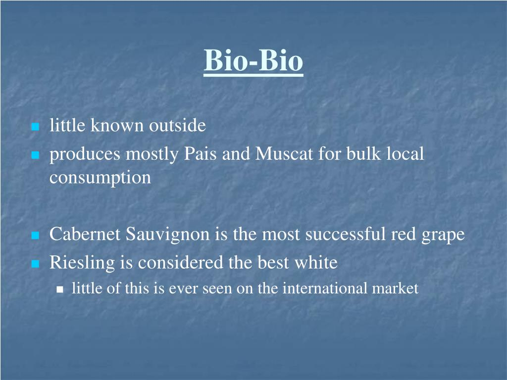 Bio-Bio