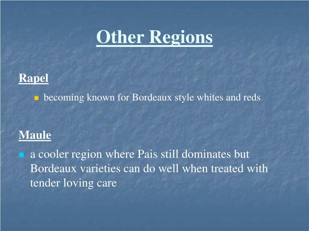 Other Regions