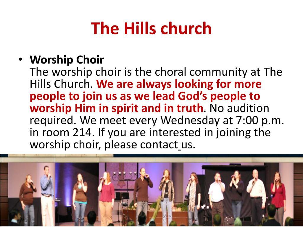 The Hills church