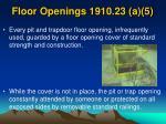 floor openings 1910 23 a 5