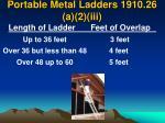 portable metal ladders 1910 26 a 2 iii