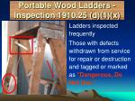 portable wood ladders inspection 1910 25 d 1 x