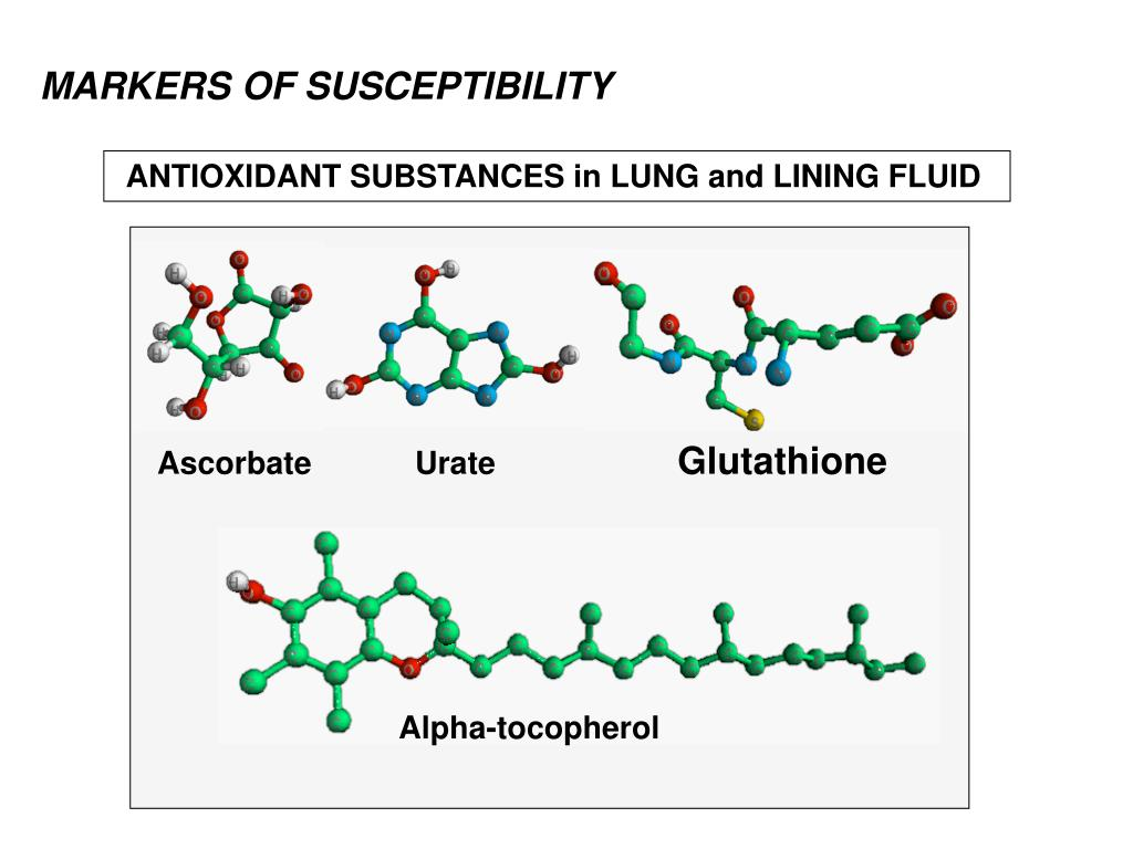 MARKERS OF SUSCEPTIBILITY