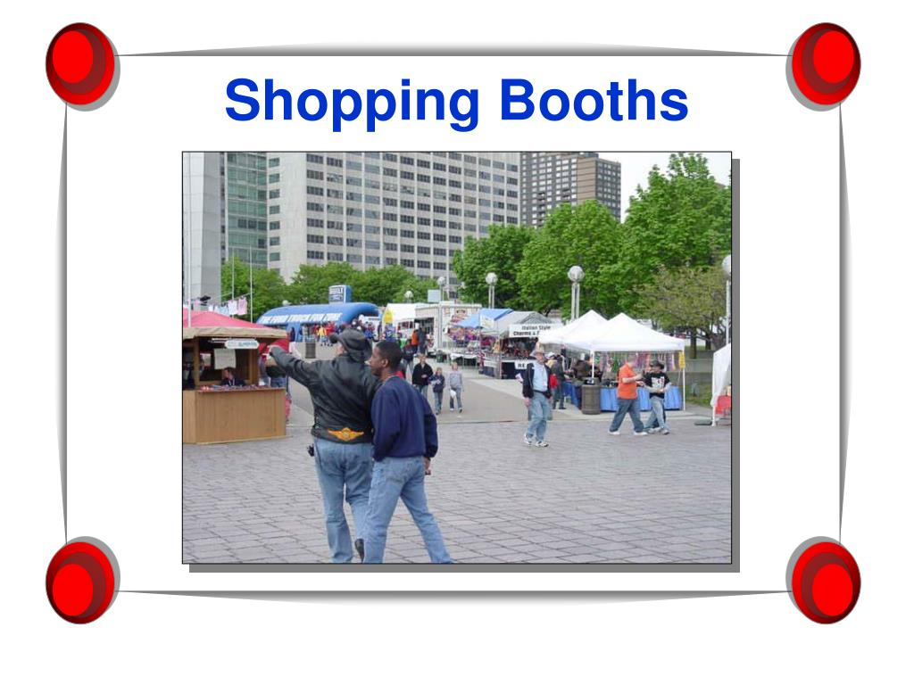 Shopping Booths