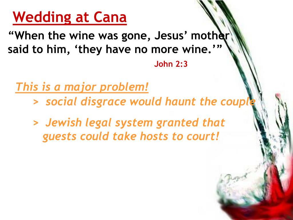 Wedding at Cana