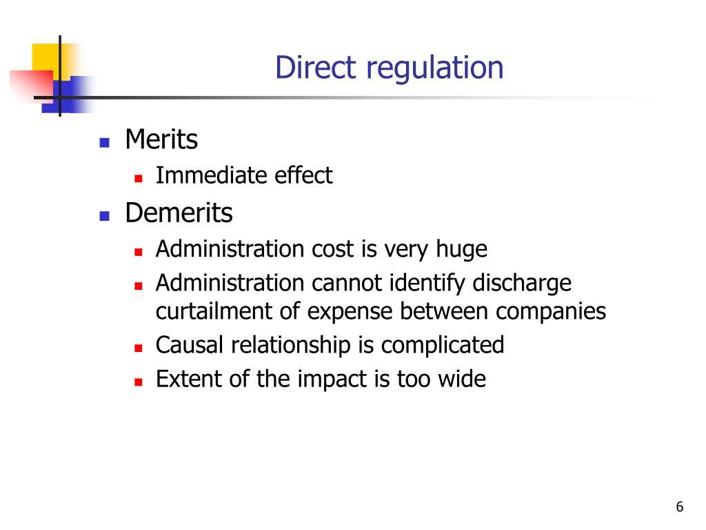 Direct regulation