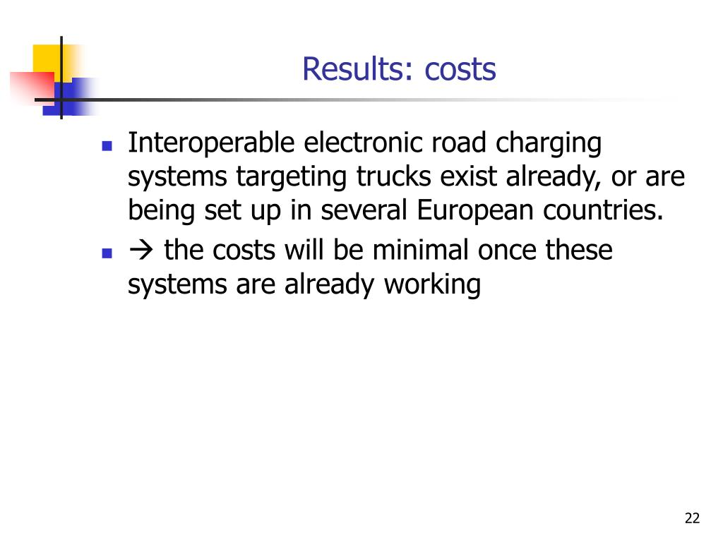 Results: costs