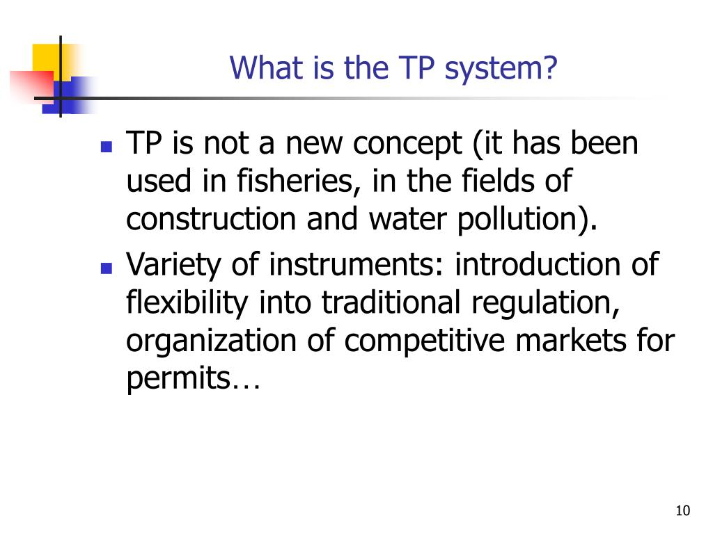 What is the TP system?