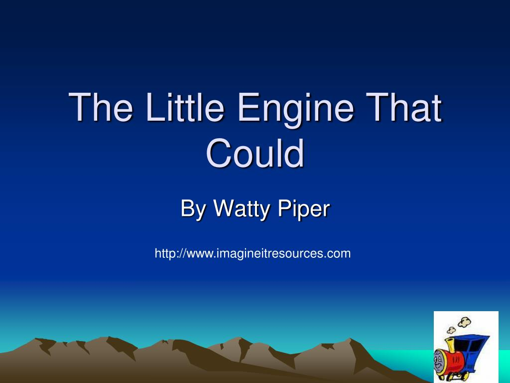 the little engine that could l.