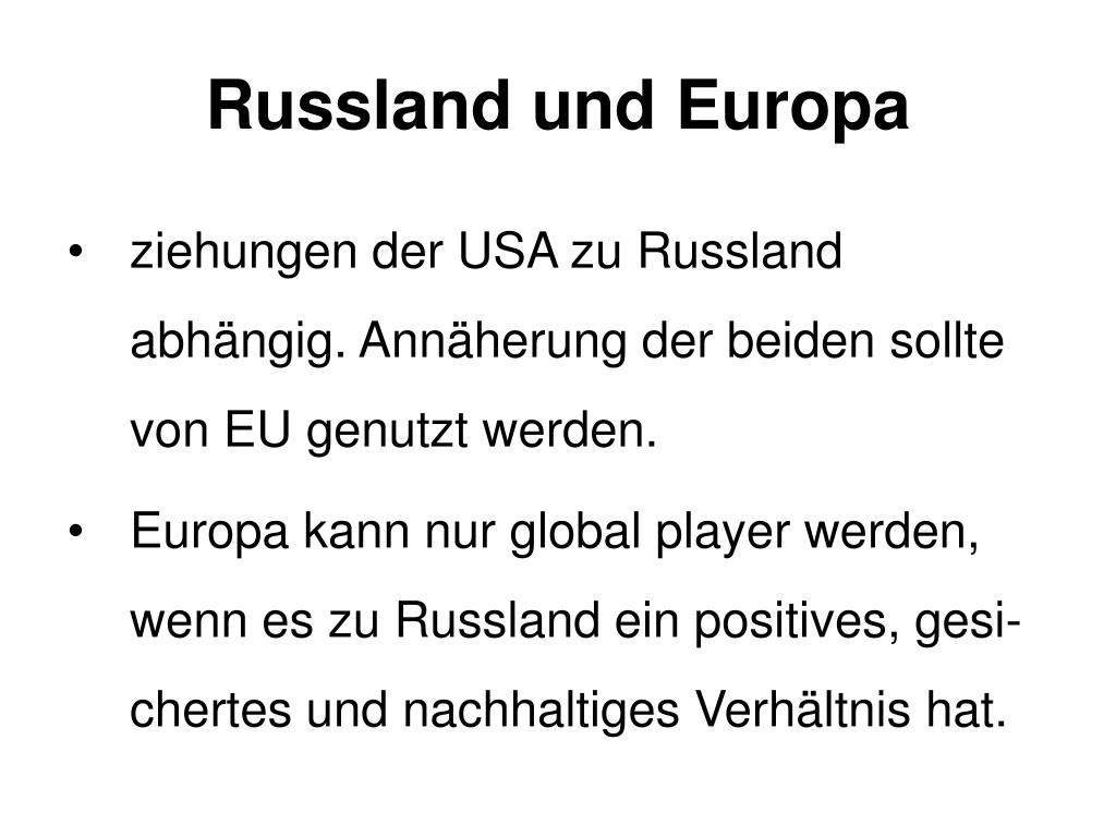 Russland und Europa