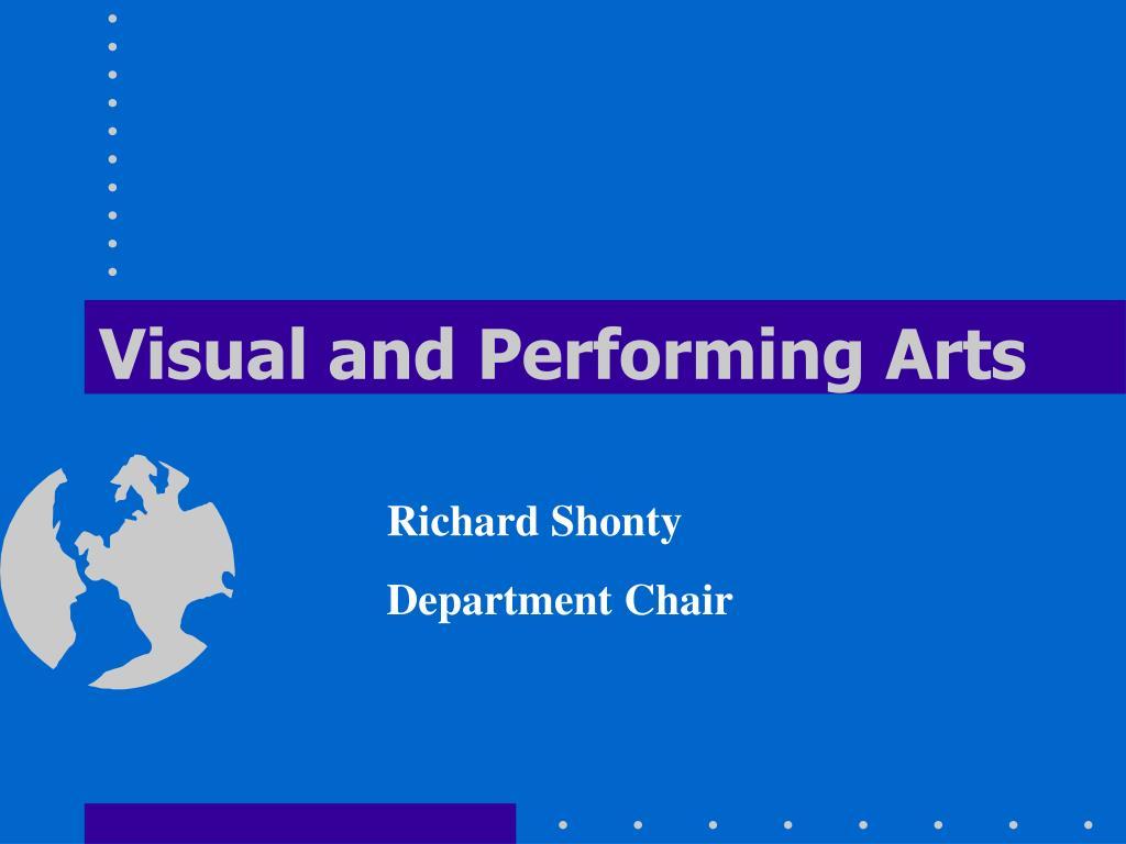 visual and performing arts l.