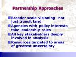 partnership approaches